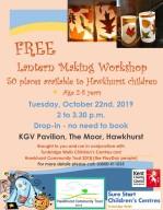 Lantern workshop Oct 2019